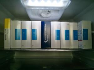 Menopur im Kühlschrank